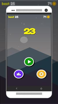 Emoji down - one tap game apk screenshot