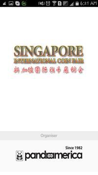 Singapore Coin Fair 2015 poster