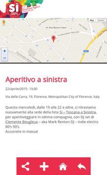 Sì - Toscana a Sinistra screenshot 4
