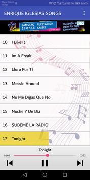 أغاني إنريك إغليسياس - Enrique iglesias screenshot 2