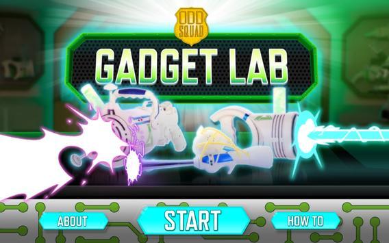 Odd Squad Gadget Lab poster