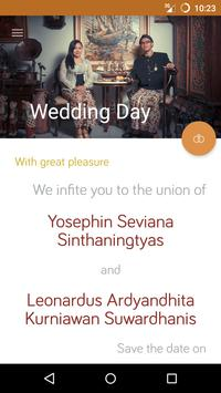 Sintha Leo Wedding poster