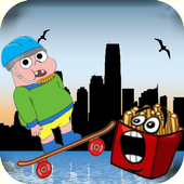 Hungry Claren jump Adventure icon