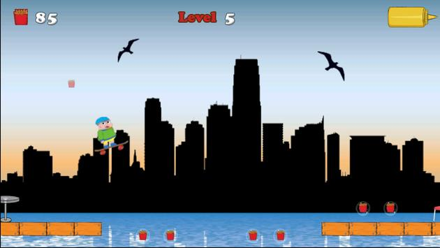 Hungry Claren jump Adventure apk screenshot