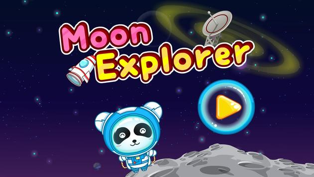 Moon Explorer: Panda Astronaut apk screenshot