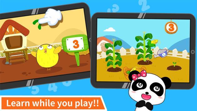 Baby Panda Learns Numbers apk screenshot