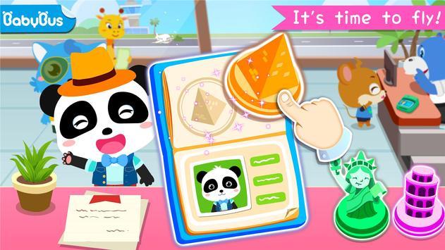 مطار Baby Panda الملصق