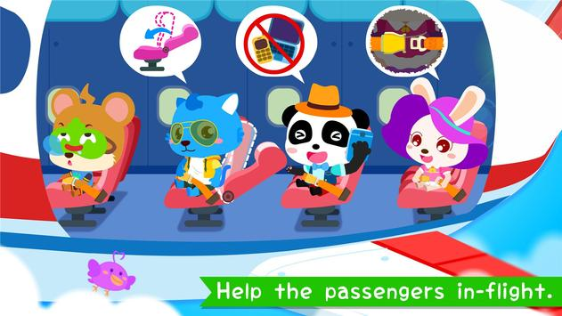 مطار Baby Panda تصوير الشاشة 2