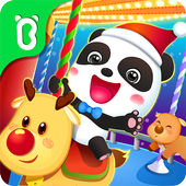 Baby Panda's Carnival - Christmas Amusement Park icon