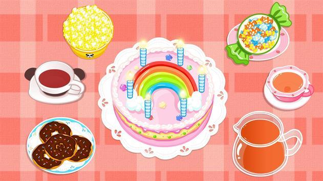 Baby Panda's Birthday Party apk screenshot