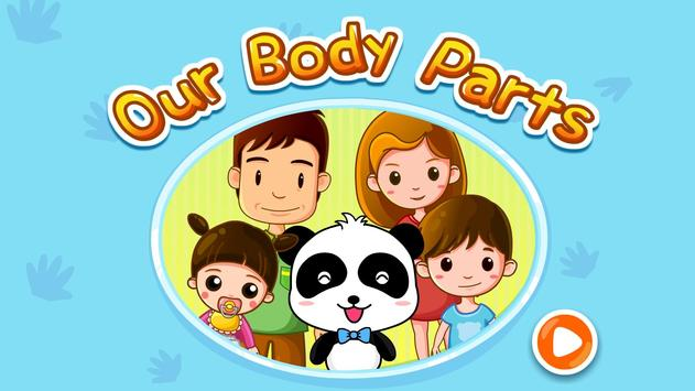 Our Body Parts - Free for kids apk screenshot