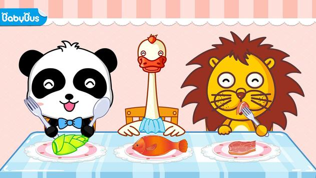 Baby Panda Chef - Educational Game for Kids poster