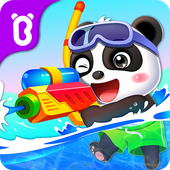 Baby Panda's Treasure Island icon