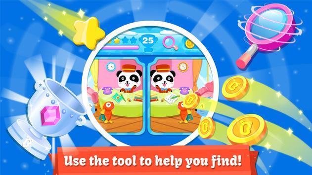 Little Panda Treasure Hunt - Find Differences Game apk screenshot