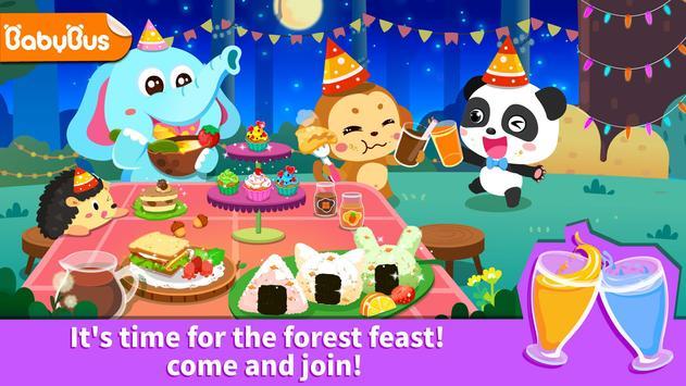 Banquete na floresta do Pandinha - Festa divertida imagem de tela 12
