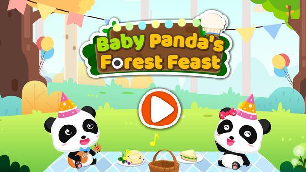 Banquete na floresta do Pandinha - Festa divertida imagem de tela 17