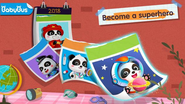 Pekerjaan Berani Bayi Panda poster