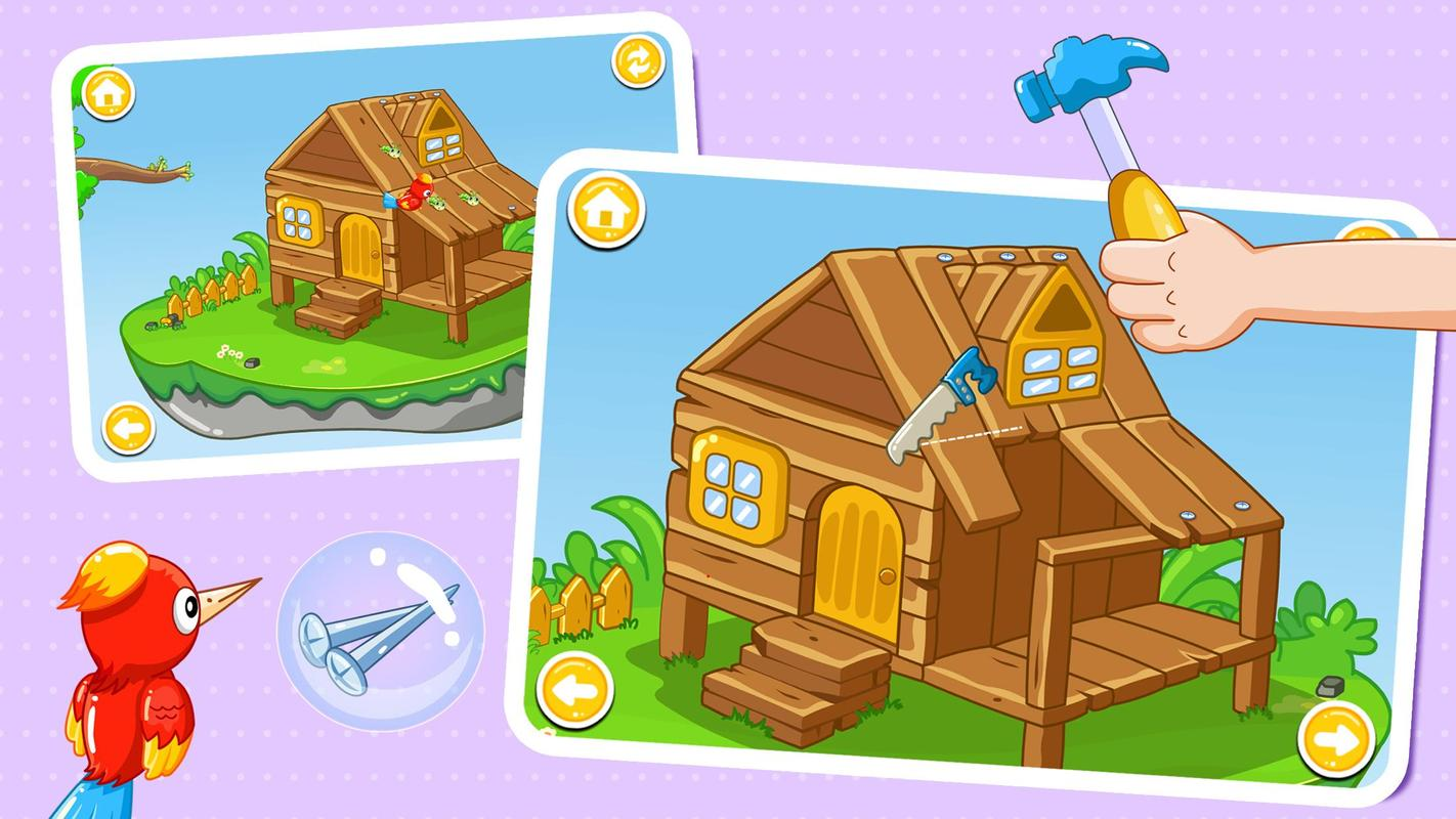 Baby Panda House Building Apk Download Free Educational Game For Android