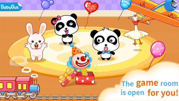 Baby Panda Kindergarten poster