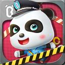 Bebé Panda oficial de policía APK