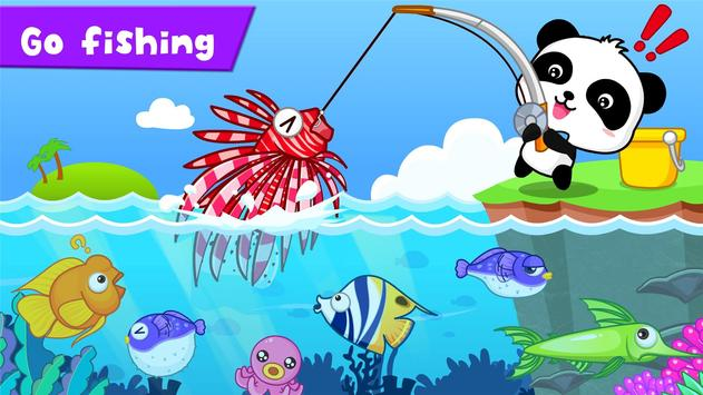 Happy Fishing: game for kids poster