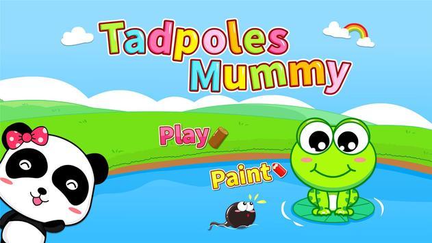 Tadpoles Mummy by BabyBus apk screenshot
