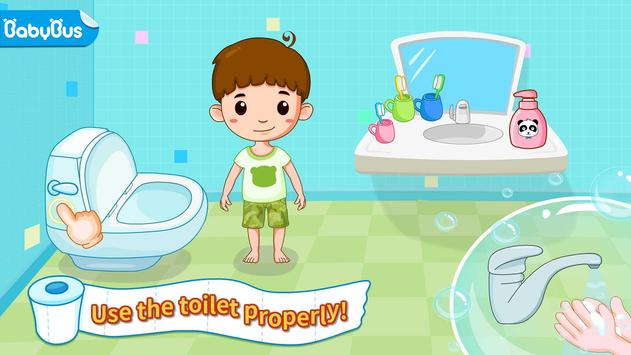Toilet Training - Baby's Potty poster