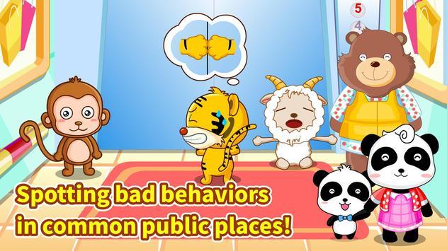 Little Panda Travel Safety apk screenshot