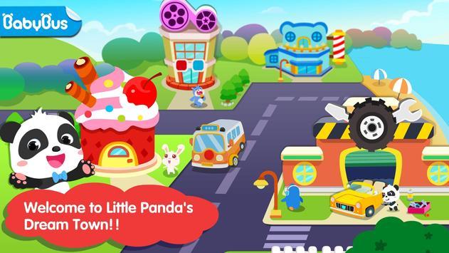 Kota Impian Panda Kecil poster