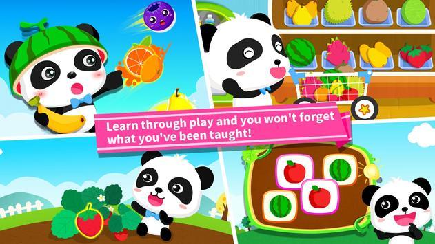 Baby Panda Learns about Fruit screenshot 3