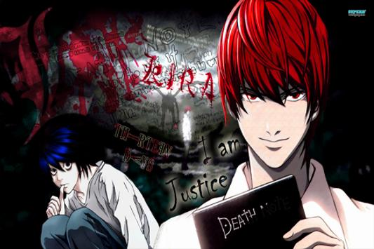 Death Note For Wallpaper poster