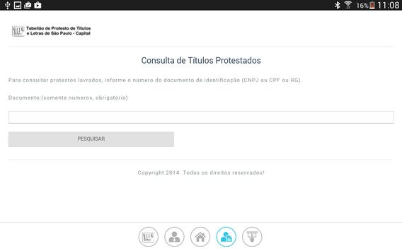 10º Tabelionato de Protesto SP apk screenshot