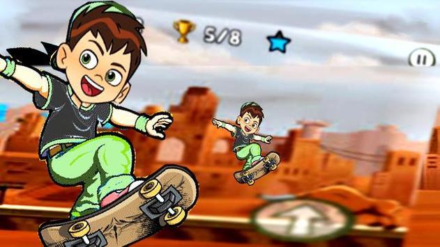 Subway Ben Skate 10 screenshot 4