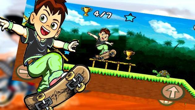 Subway Ben Skate 10 screenshot 5