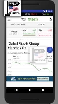 WSJ - The Wall Street Journal - Daily News -  News screenshot 1