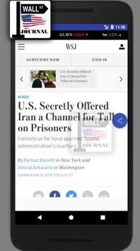 WSJ - The Wall Street Journal - Daily News -  News screenshot 2
