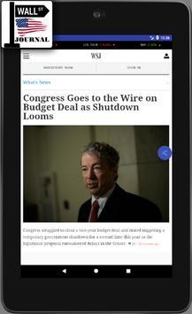 WSJ - The Wall Street Journal - Daily News -  News screenshot 7