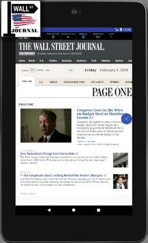 WSJ - The Wall Street Journal - Daily News -  News screenshot 4