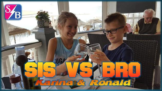 Sis VS Bro: Karina & Ronald poster