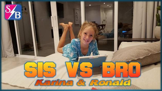 Sis VS Bro: Karina & Ronald apk screenshot