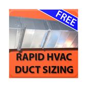 Rapid HVAC Duct Sizing Free icon