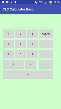 CLC Calculator Basic poster