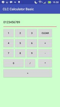 CLC Calculator Basic apk screenshot