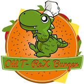 Old T-Rex Burger icon