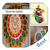 5000+ Latest Rangoli Designs icon
