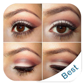 Trend makeup styles (step by step makeup) icon