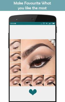 Trend makeup styles (step by step makeup) screenshot 3