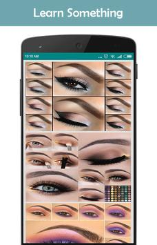 Trend makeup styles (step by step makeup) poster