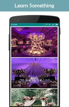 Wedding Decoration Ideas poster