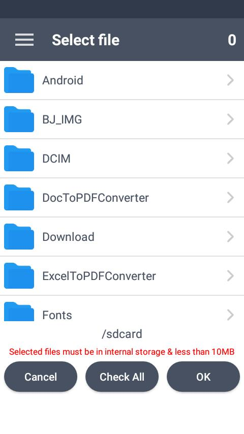 Excel to PDF Converter : xls to pdf for Android - APK Download